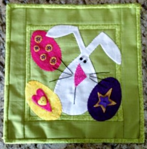 Easter Bunny Wall Hanging