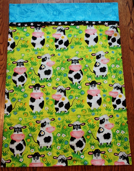 Dairy Cows Pillowcase