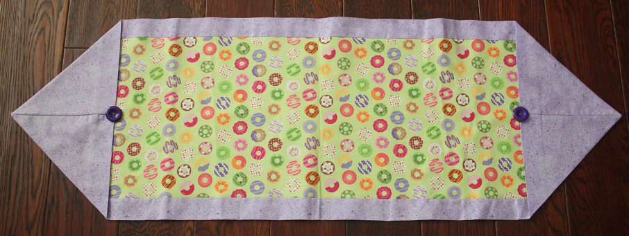 Colorful Circles Table Runner