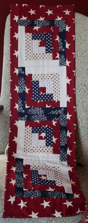 Patriotic Themed Table Runner