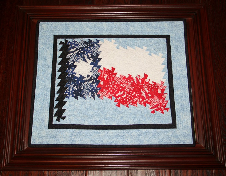 Mini-Twister Texas Flag Wall Hanging