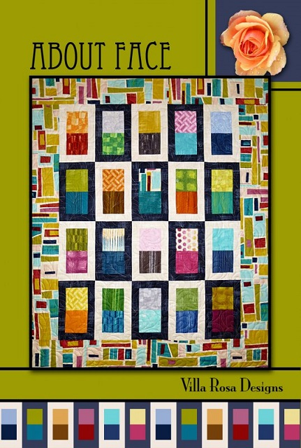 Villa Rosa About Face Quilt Pattern Card