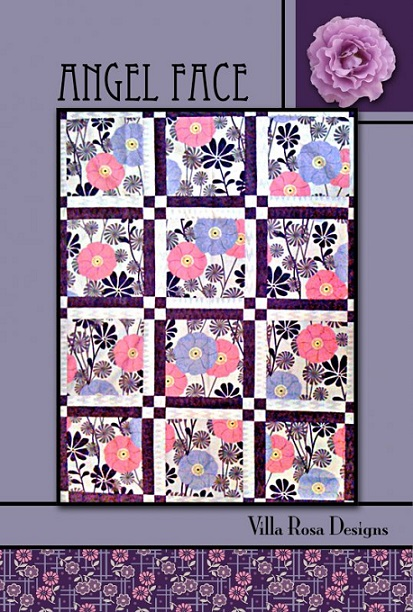 Villa Rosa Angel Face Quilt Pattern Card