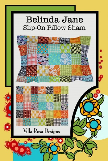 Villa Rosa Belinda Jane Slip-On Pillow Sham Pattern Card