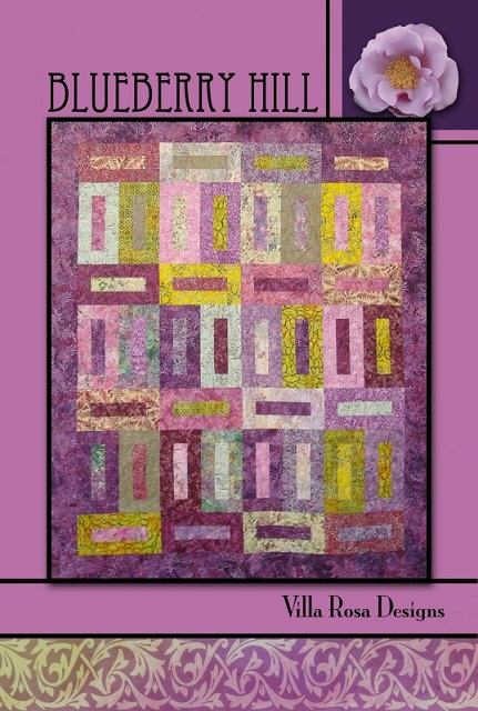 Villa Rosa Blueberry Hill Quilt Pattern Card