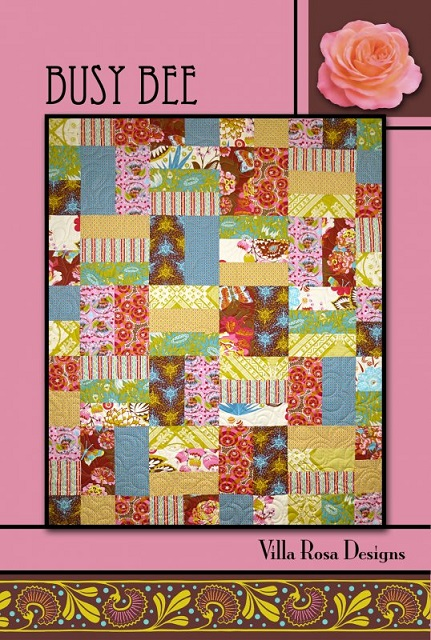 Villa Rosa Busy Bee Quilt Pattern Card