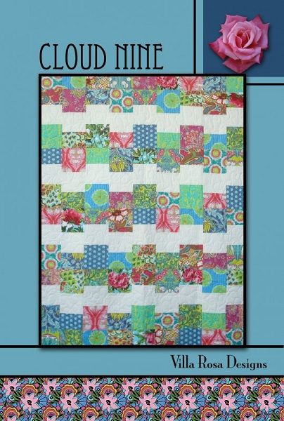 Villa Rosa Cloud Nine Quilt Pattern Card