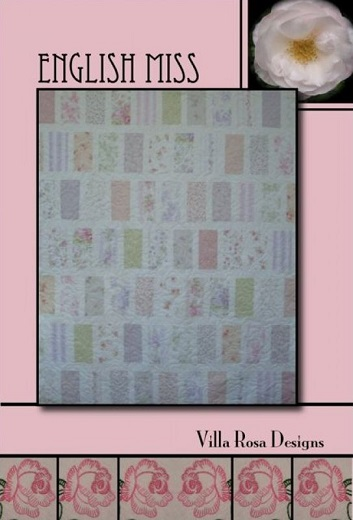 Villa Rosa English Miss Quilt Pattern Card