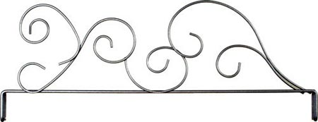"Classic Curl 12"" Display Stand Header / Quilt Hanger"