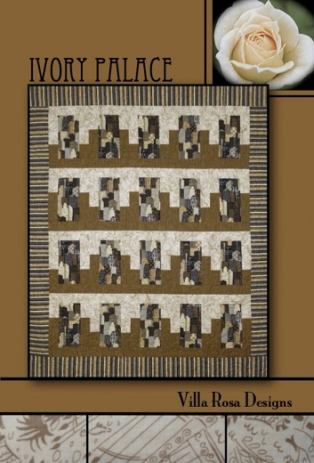 Villa Rosa Ivory Palace Quilt Pattern Card