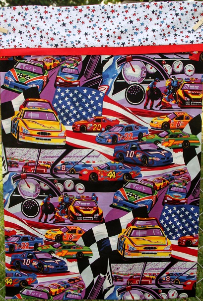 NASCAR Themed Pillow Case, Standard Size