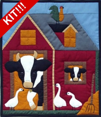 Cows Wall Hanging Quilt Kit