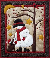 Frosty & Friend Wall Quilt Kit