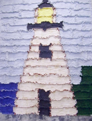 Lighthouse Rag Quilt Pattern