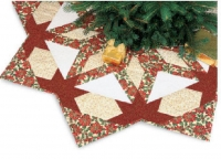 Radiant Star Tree Skirt Pattern