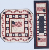 The Flag Still Waves - Wall Hanging & Table Runner Pattern