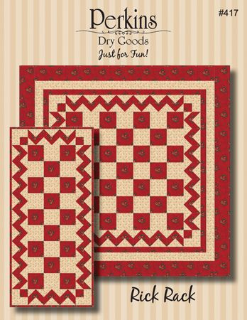Rick Rack Table Runner or Topper Pattern