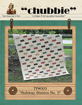 "Subway Station No. 5 - ""Chubbie"" Quilt Pattern"