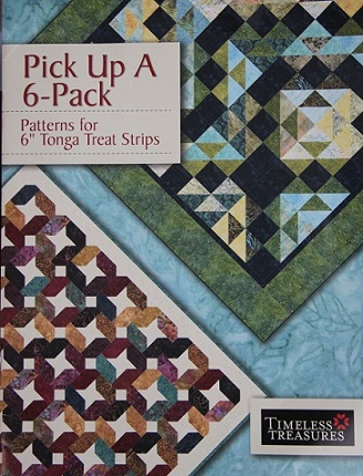 Timeless Treasures Pick Up A 6-Pack Pattern Book