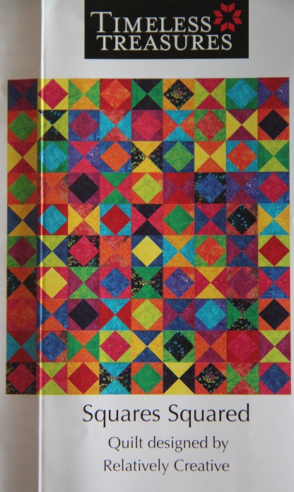 Timeless Treasures Tonga Treats Rainbow Six Pack Quilt Kit