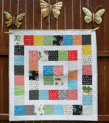 Unisex Baby Quilt or Play Mat